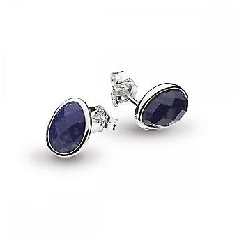 Kit Heath Coast Pebble Lapis Lazuli Stud Earrings 3180LP022