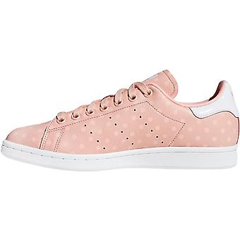 adidas Originals Mulheres Stan Smith Casual Fashion Lace Up Trainers Shoes - Pink