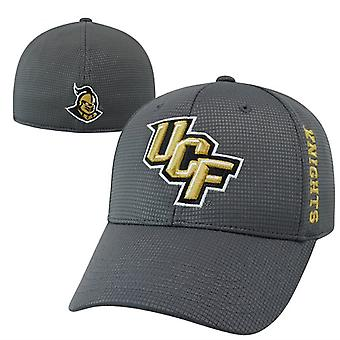 """UCF Knights NCAA TOW """"Booster"""" Gray Memory Fitted Hat"""