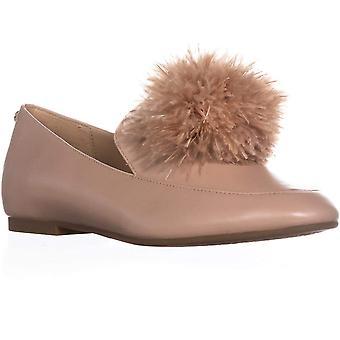 Michael Kors dame Fara stof mandel tå loafers