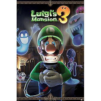 Luigi-apos;s Mansion 3 Affiche You-apos;re pour un Fright 91.5 x 61 cm