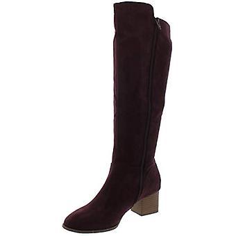 Style & Co. naisten Finnly 2 teko Mokka polvi-korkeat saappaat violetti 5 keskikokoinen (B, M)