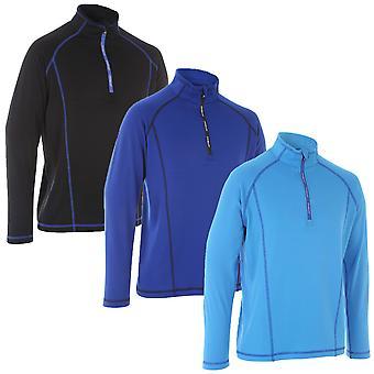 Proquip Golf Mens Imperméable à l'eau Pro Lite Fleece Half Zip Wind Top