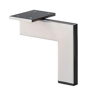 RVS / INOX design hoekprofiel meubelpoot 16 cm