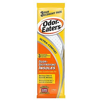 Odor-eaters ultra-comfort insoles, 3 pairs