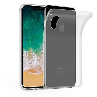 Cadorabo Case för Apple iPhone X/XS fodral Cover-mobiltelefon väska tillverkad av flexibel TPU Silikon-silikonfodral skyddsfodral Ultra Slim Soft Back Cover fodral stötfångare