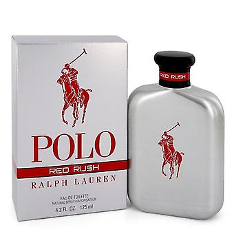 Polo Red Rush Eau De Toilette Spray By Ralph Lauren   545154 125 ml
