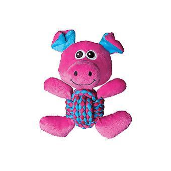 Kong Weave Knots Pig - Medium