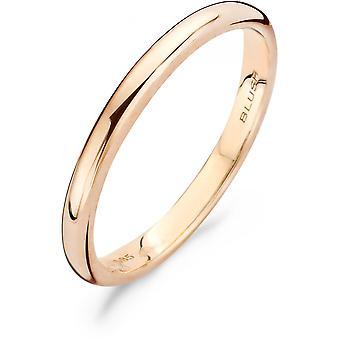 Blush Ring 11179RGO - Women's 2mm Pink Gold Ring