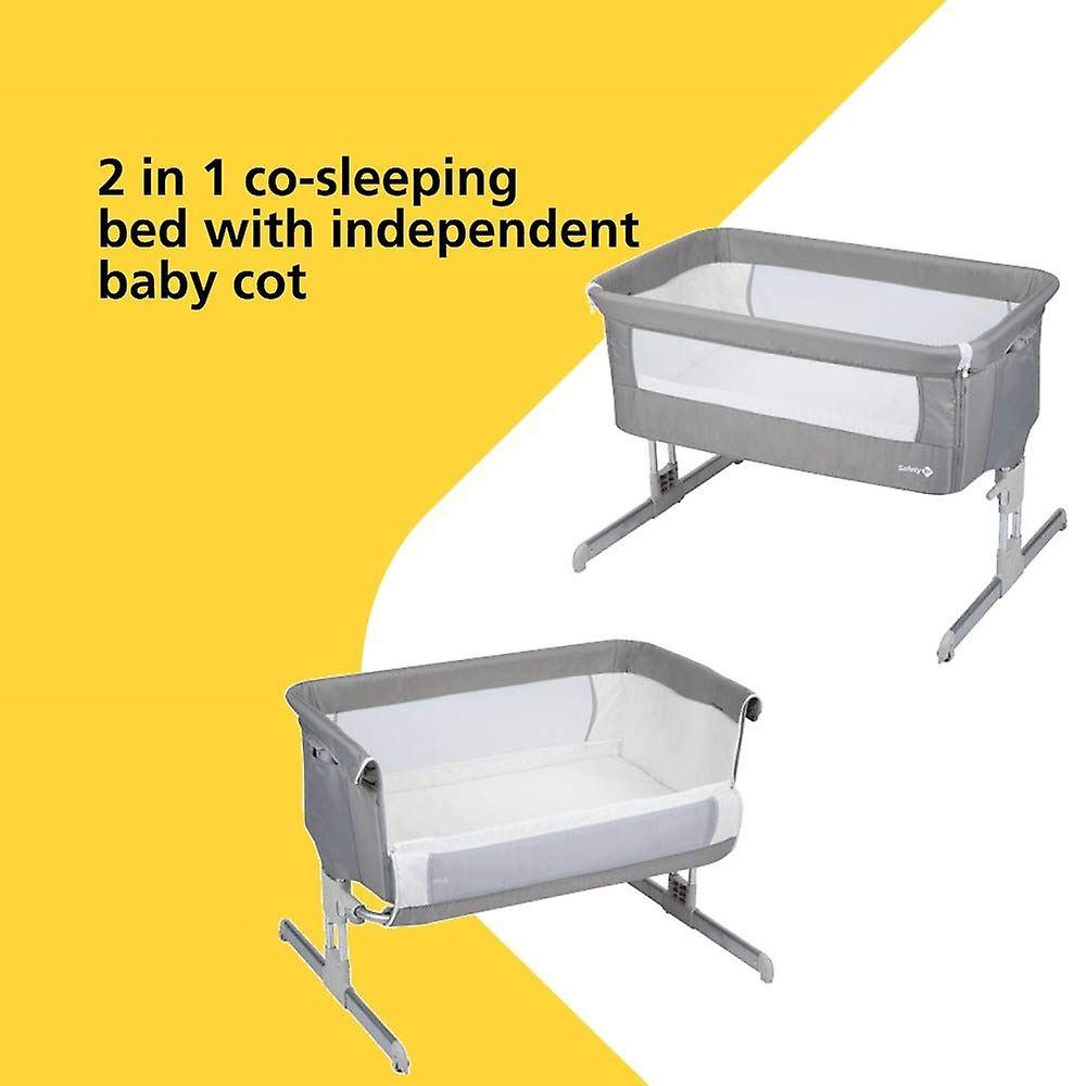 Sécurité 1er Calidoo Co-Sleeping Bed Warm Grey