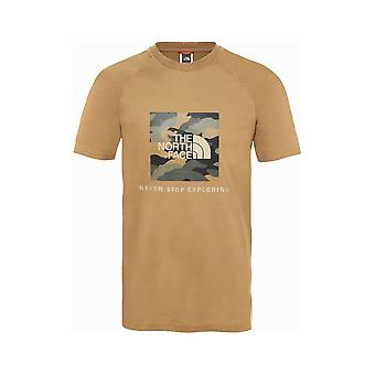 North Face Raglan Red Box Tee NF0A3BQOD9V1 universal kesä miesten t-paita