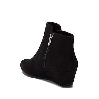 Kenneth Cole Réaction Femmes pointe plaine Tissu Amande Toe Ankle Fashion Boots