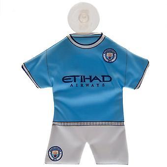 Manchester City FC Mini Kit Window Hanger