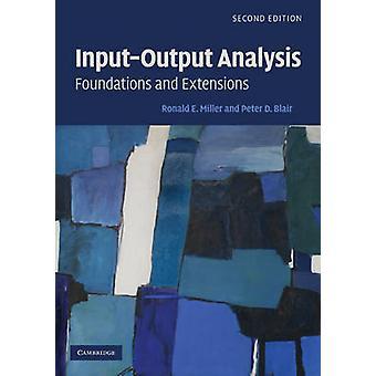 InputOutput Analyse door Ronald E. University of Pennsylvania Miller