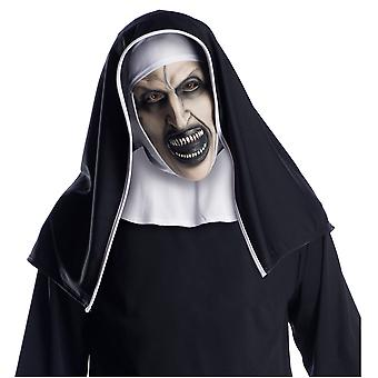 The Nun Horror Movie Ghost The Conjuring Halloween Mens Costume Mask & Headpiece