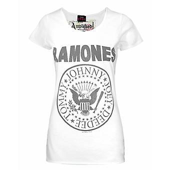 Ενισχυμένο Ramones Σφραγίδα Λογότυπο Γυναίκες's T-Shirt
