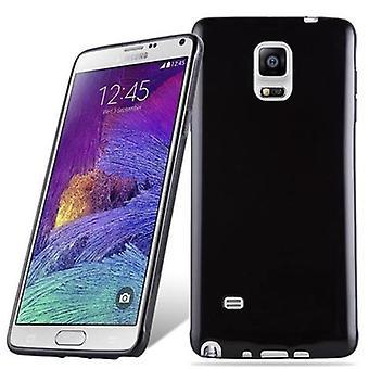 Fodral för Samsung Galaxy NOTE 4 Flexibel TPU Silikon telefonväska - Omslag - ultra slim
