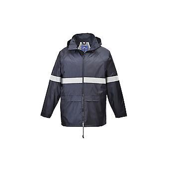 Portwest classic iona outdoor rain jacket coat f440