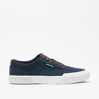 Jack & Jones Thai Canvas Mix Mens Casual Trainers Navy Blazer