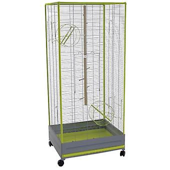 Voltrega 209 Grey Squirrel Cage 65 X 54 X 150 Cm (Small pets , Cages and Parks)