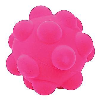Rubbabu miękkie pluszowe wyboista kulki sensoryczne (różowy) noworodka