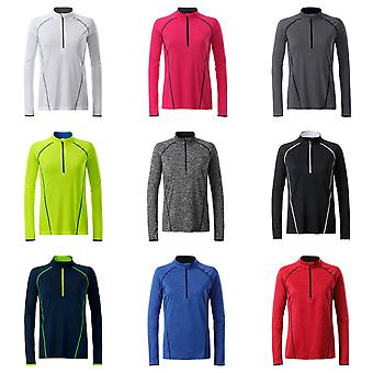 James and Nicholson Womens/Ladies Long Sleeve Sports Top