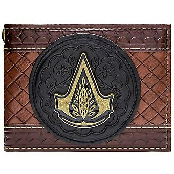 Assassins Creed Syndicate Jacob Embossed ID & Card Bi-Fold Wallet