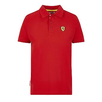 Scuderia Ferrari Kid's Classic Polo Shirt | Vermelho | 2020