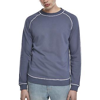 Urban Classics - Contrast Stitch Crewneck Sweater vintage
