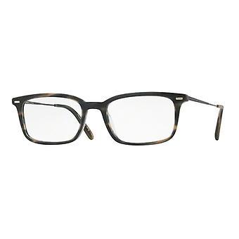 Oliver Peoples Wexley OV5366U 1614 Semi Matte Blue Cocobolo Glasses