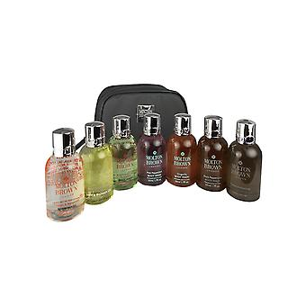 Molton brown body wash travel kit 7 x 1.7 oz