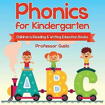 Phonics for Kindergarten  Childrens Reading  Writing Education Books by Gusto & Professor