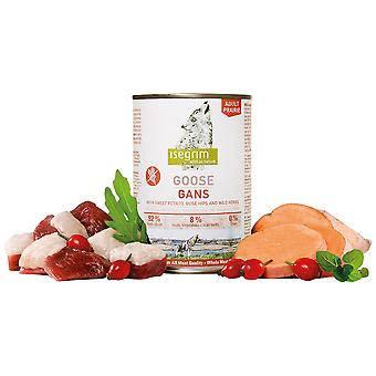 Isegrim Adult Tin Goose Boniato, Rosehips And Wild Herbs (Dogs , Dog Food , Wet Food)
