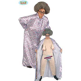 Costumi da uomo sexy Granny costume con effetto sorpresa