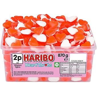 Haribo Heart Throbs (300) pieces 870g