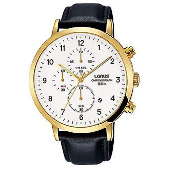 Lorus quartz men's Watch with leather band RM314EX9