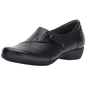 Dansko Womens Franny Leather Round Toe Loafers