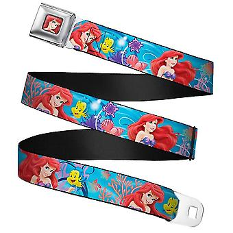 Disney The Little Mermaid Ariel & Flounder Cinto web fivela