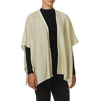 Sublevel Women-apos;s Cape Sweatware Knit Cardigan