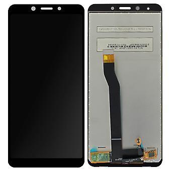 Täydellinen lohko Xiaomi Redmi 6: LCD-näyttö + alkuperäinen kosketus näyttö-musta
