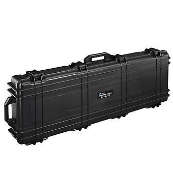 B&W Outdoor Case Typ 72 2 Rollen, Würfelschaum, Schwarz
