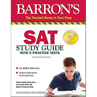 SAT Study Guide with 5 Practice Tests by Sharon Weiner Green - 978150