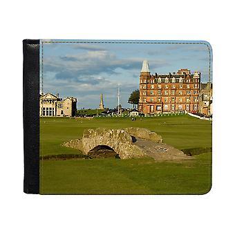 St Andrews Golfbana Plånbok Med Myntfack