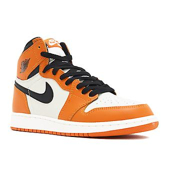 Air Jordan 1 retrô alta Og Bg (Gs) 'quebrado Backboard embora' - 575441 - 113 - sapatos