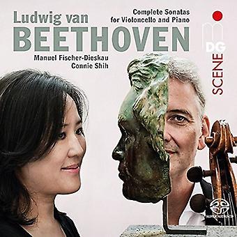 Beethoven / Shih - Beethoven / Shih: Complete Cello Sonatas [SACD] USA import