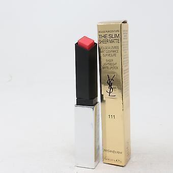 Yves Saint Laurent die schlanke schiere Matte Lippenstift 0,07 Unzen/2g neu mit Box