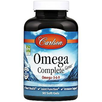 Carlson Labs Omega 3-6-9 with 90 Perls