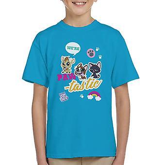 Littlest Pet Shop We're Paw Tastic Kid's T-Shirt
