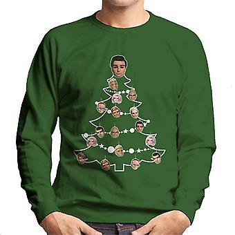 Thunderbirds Christmas Tree Character Bauble Men's Sweatshirt