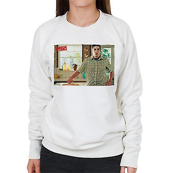 American Pie Jim Touches Pie Women's Sweatshirt